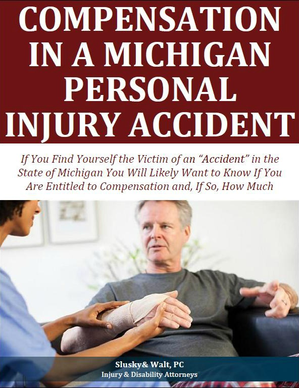 Compensation in a Michigan Personal Injury Accident